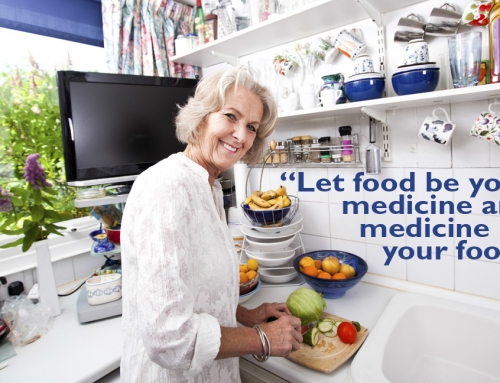The impact of nutrition on your health and aging.